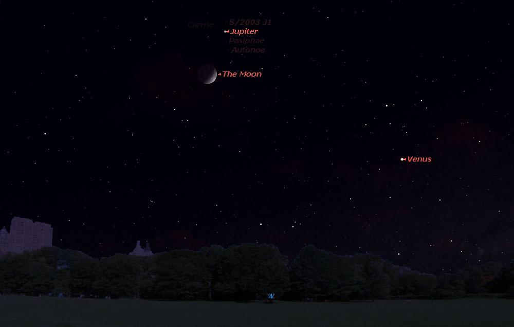 moon viewing jupiter tonight - photo #8