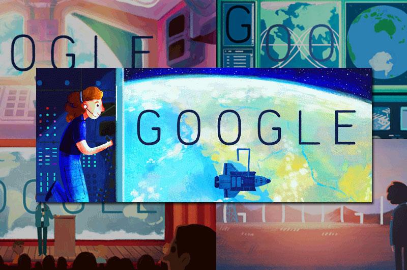 Sally Ride Google 'Doodle'
