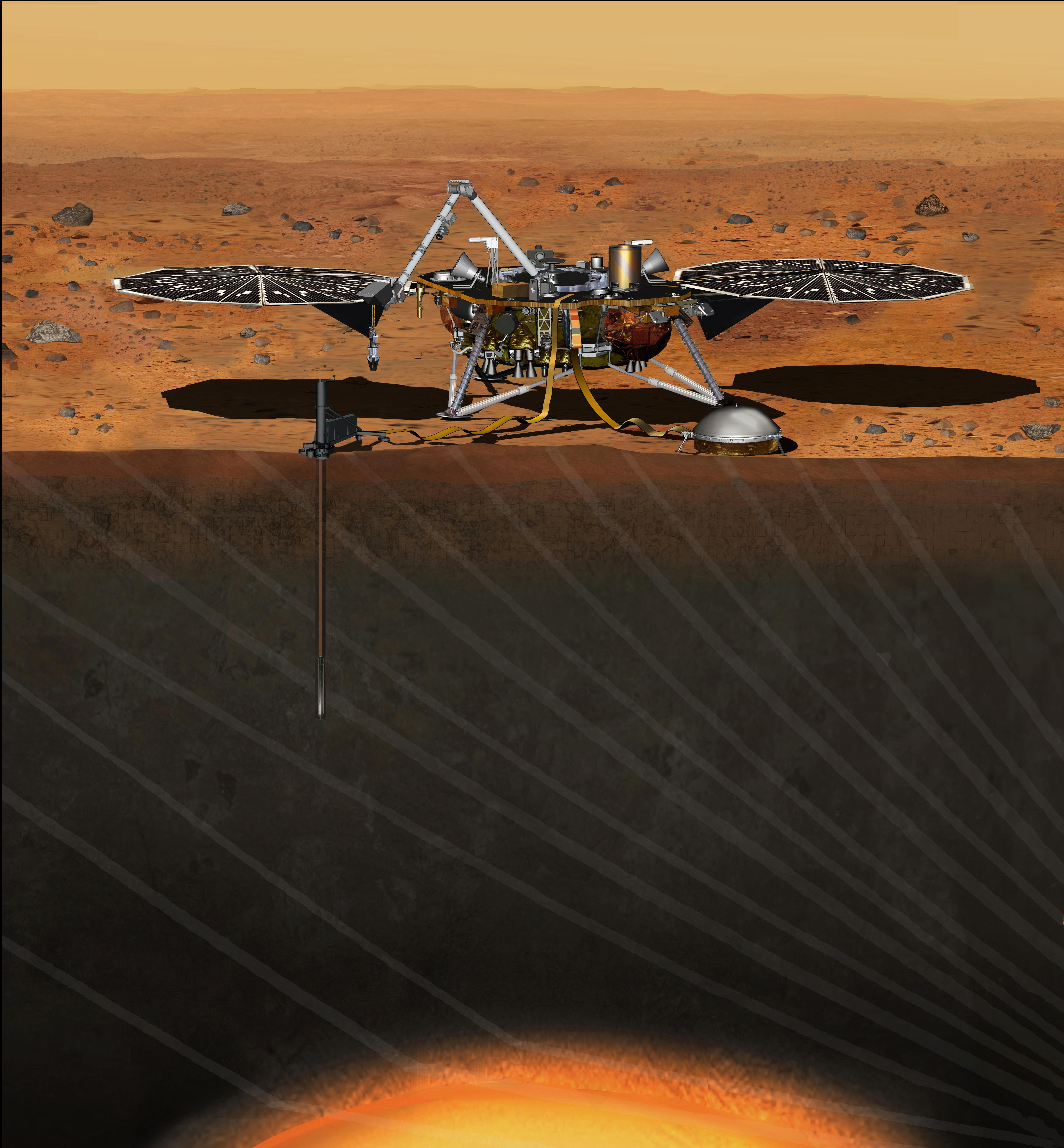 globe mars landings - photo #27