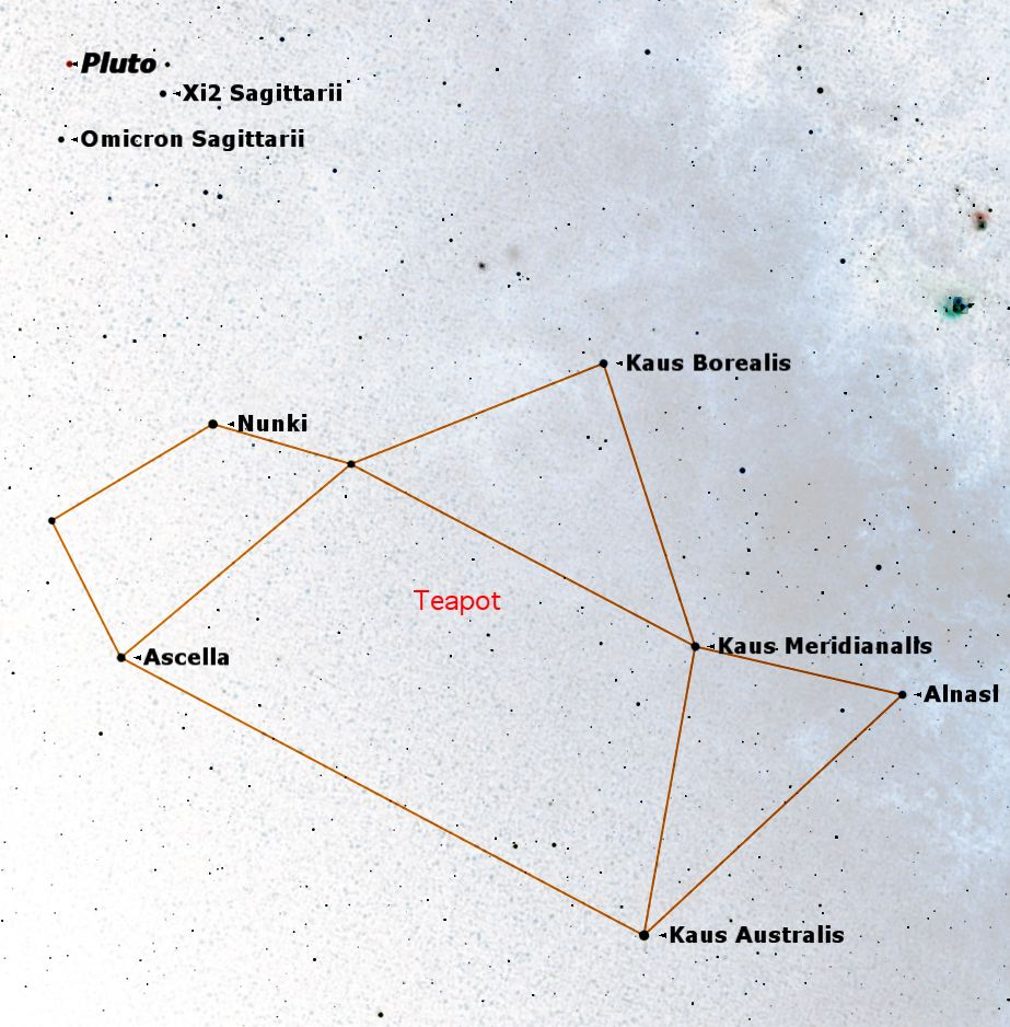 Where's Pluto? How to Find the Dwarf Planet in the Sky
