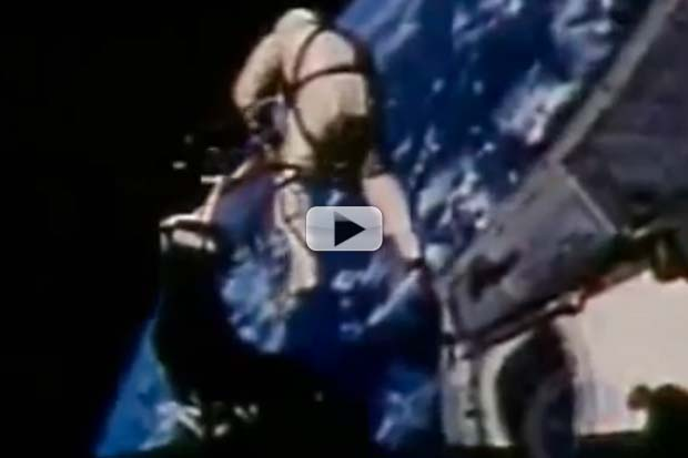 America's First Spacewalk Revisited In 1965 NASA Archive Video
