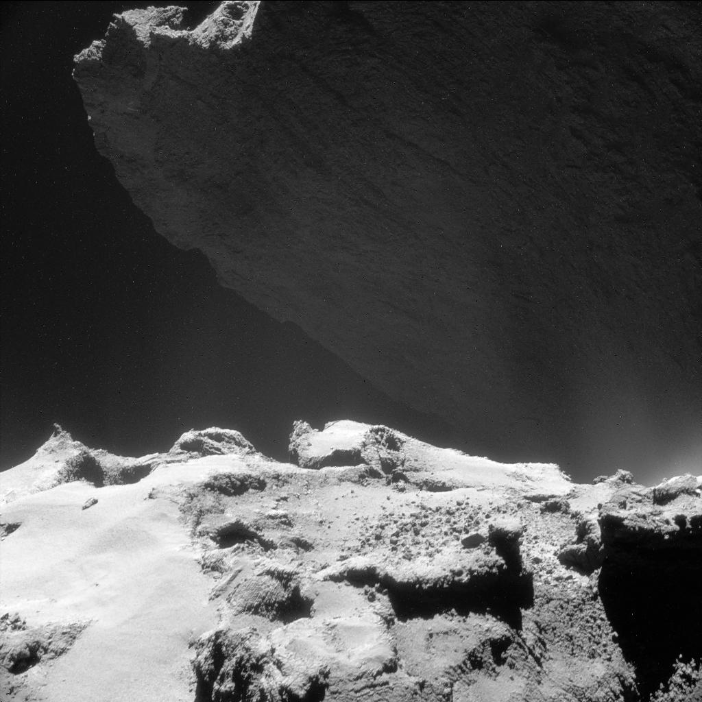 NavCam image of Comet 67P/C-G Hathor