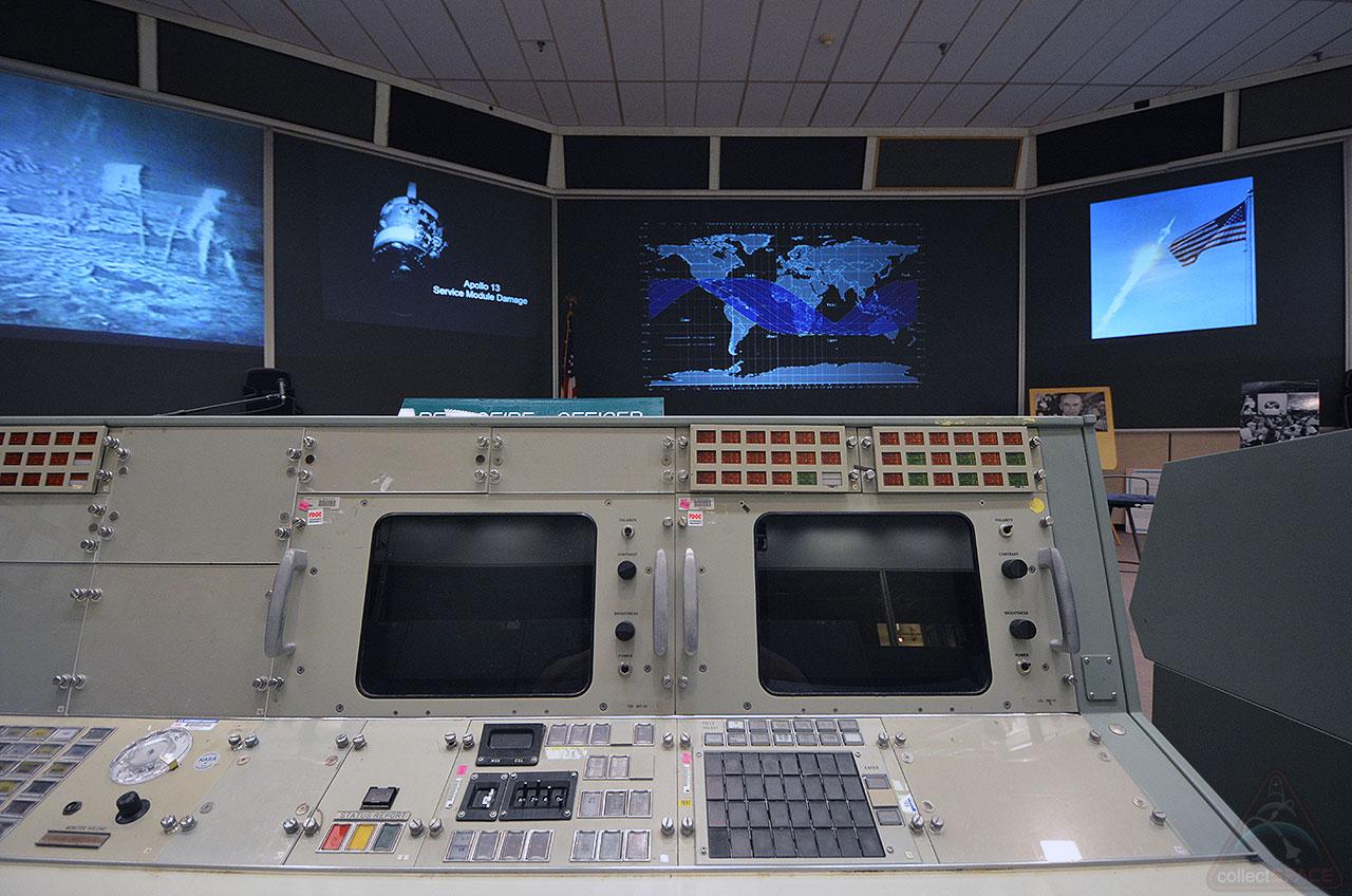 Original Console in NASA' Mission Control