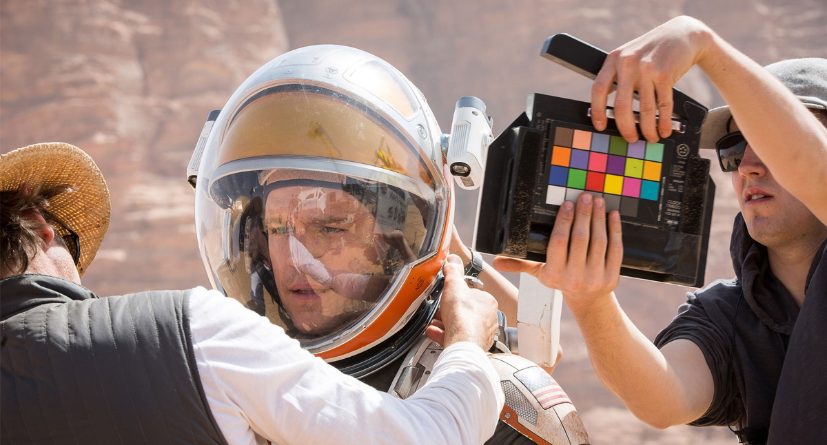 Filming 'The Martian'