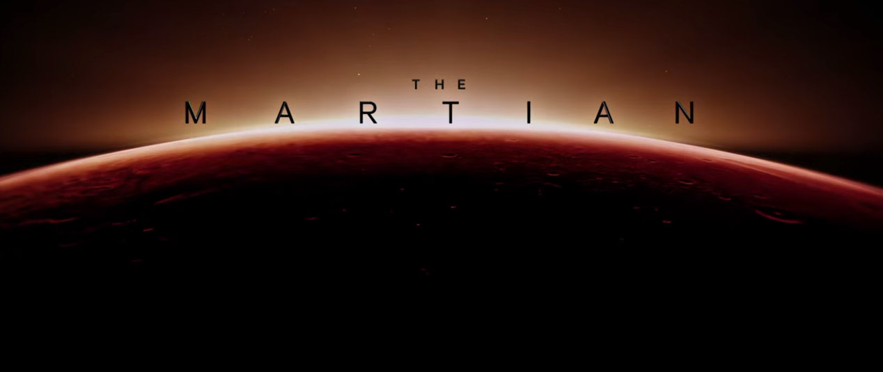 The Martian: Title Card