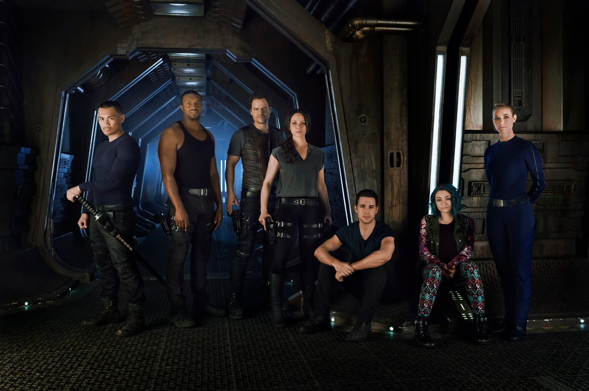 Syfy channel 39 s 39 dark matter 39 tv series in photos - Small spaces tv show channel gallery ...