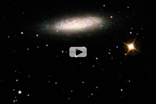 Lone Spiral Galaxy Seen By Upgraded Hubble Camera | Video