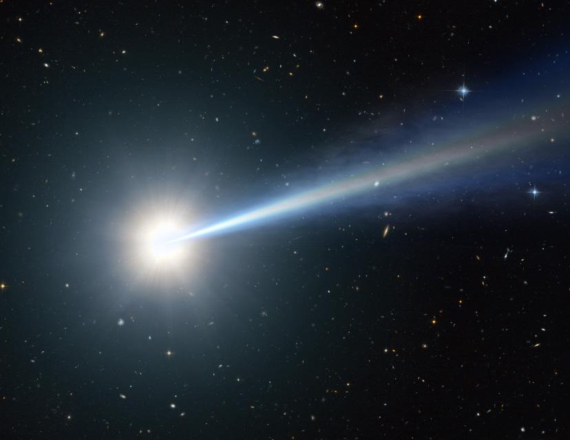 Artist's Impression of a Quasar