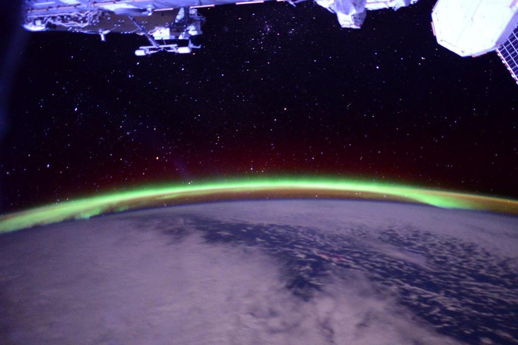 Green Auroras by Virts
