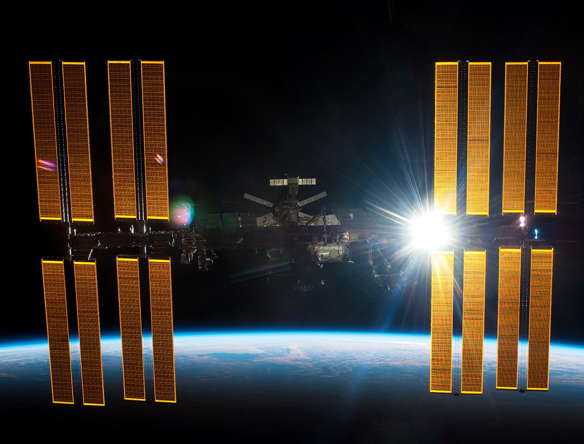 The International Space Station, Product of 15 Countries