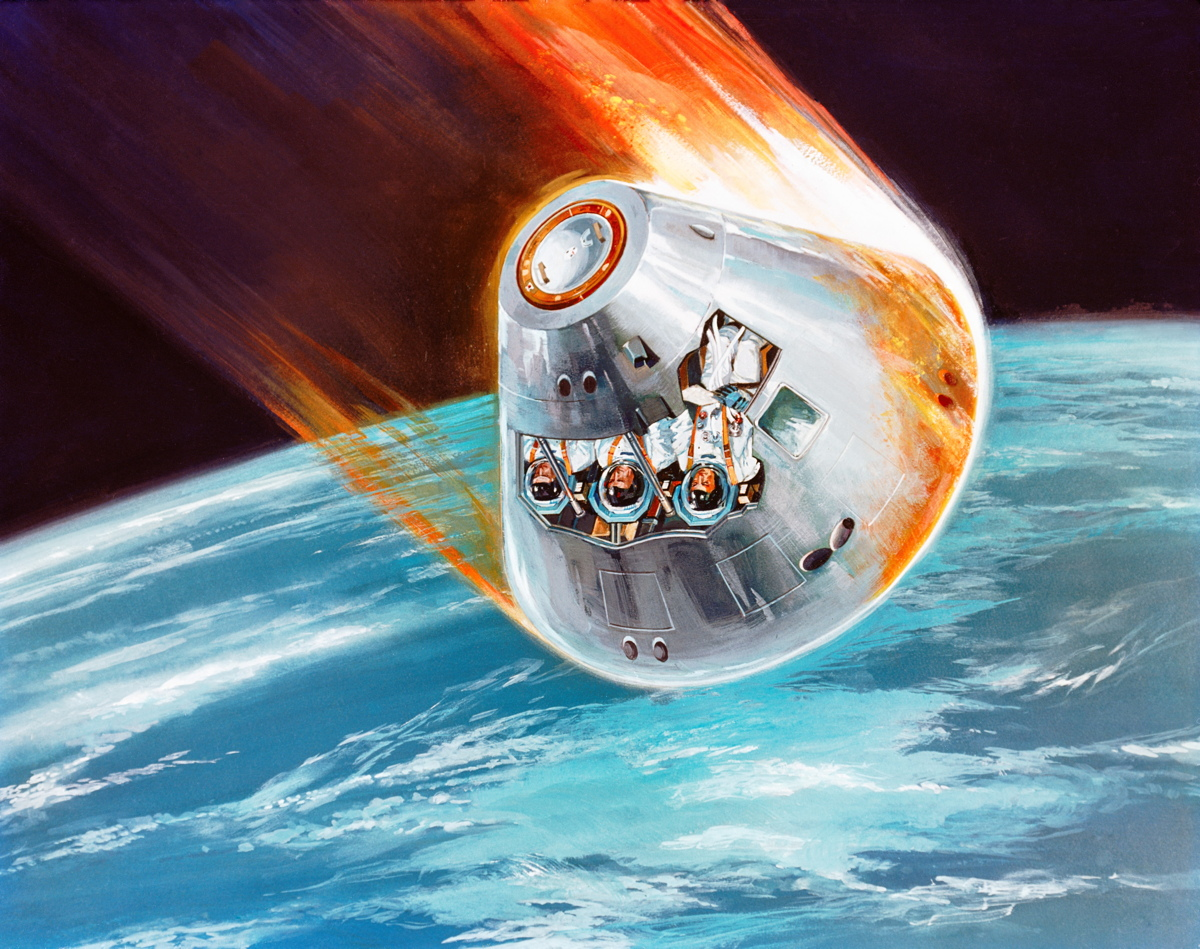 New Spaceship Antenna Prevents Radio Silence During Fiery Re-Entry