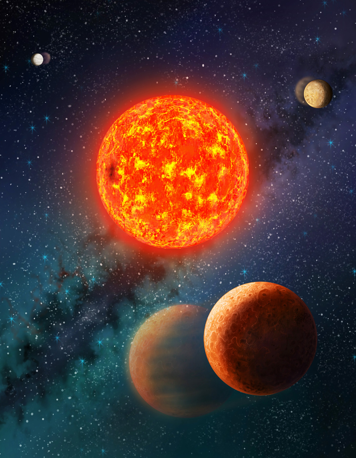 Alien Planet Is Smaller Than Earth and Surprisingly Light