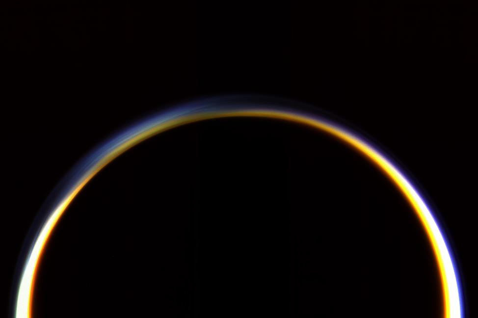 Saturn's Moon Titan Has Polar Winds, Just Like Earth
