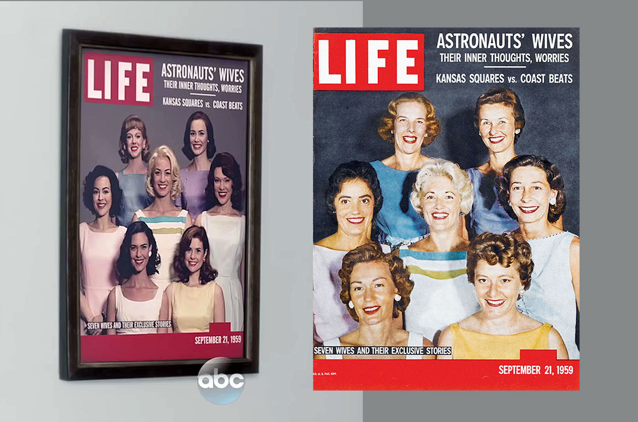 LIFE Magazine Cover in 'The Astronaut Wives Club'