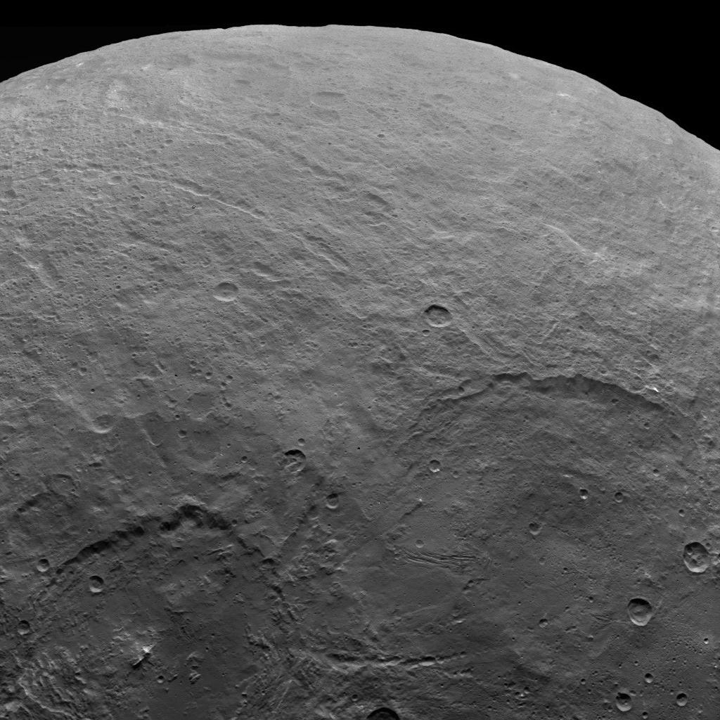 Ceres — Dawn Survey Orbit Image 9