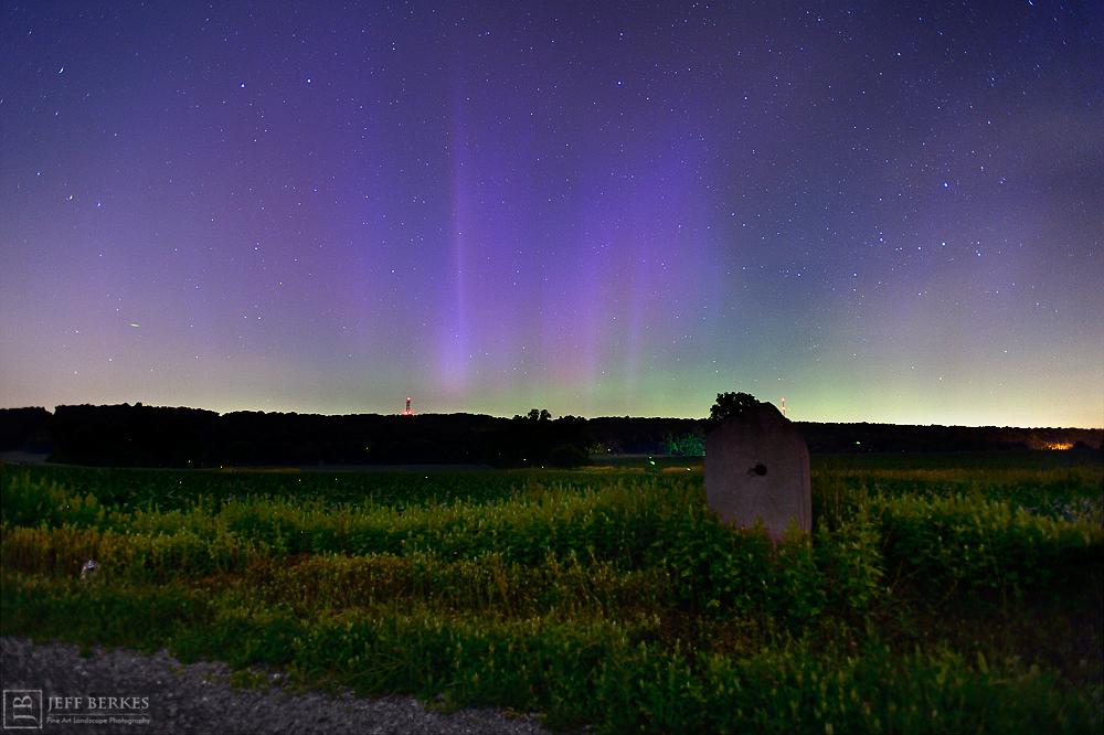 Aurora Seen in Southern Pennsylvania
