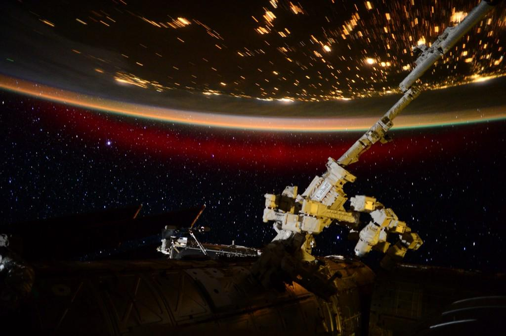 Astronaut Scott Kelly's Photo of an Aurora