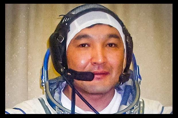 Cosmonaut Aidyn Aimbetov