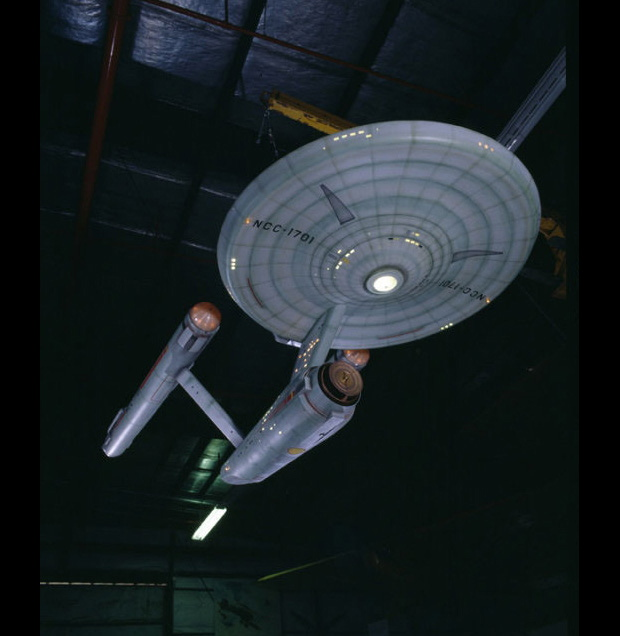 See USS Enterprise Morph from Sailing Ship to Starship (Video)