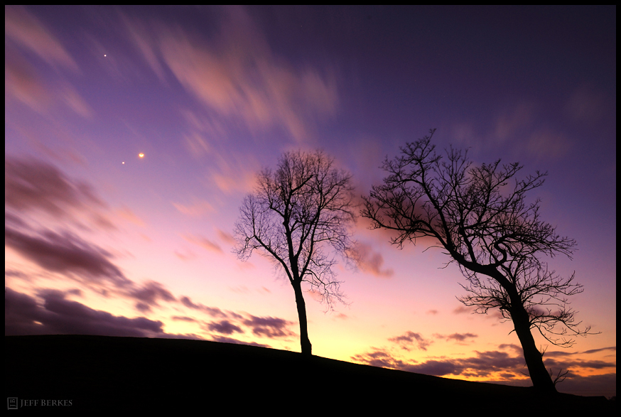 See Venus and Jupiter Dance Together Tonight