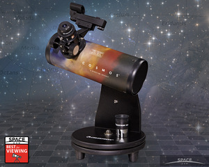 Remarkably fine optical quality at a very low price makes this surprising telescope a great choice for kids with an interest in the night sky. With patience and a dark location, planets, nebulae and even a few galaxies are in range of this telescope.