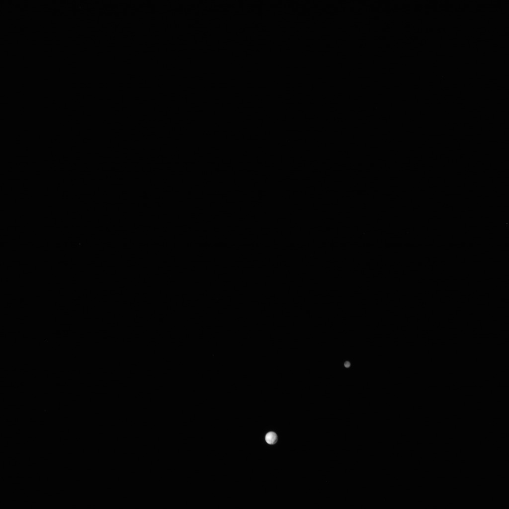 Full Portrait of Pluto and Charon