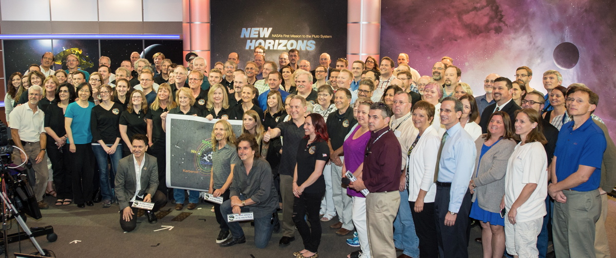 New Horizons Mssion Team and Styx