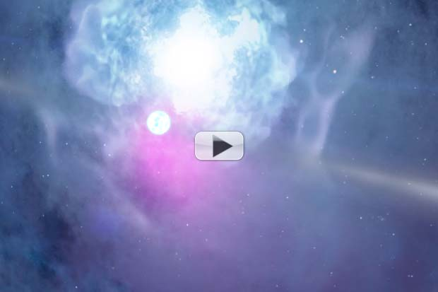 Celestial 'Fireworks' Anticipation Grows With NASA Cinematic Treatment | Video