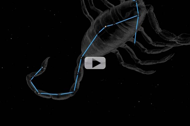 Scorpion's 'Heart', Bright Planets and A Meteor Shower | July 2015 Skywatching Video