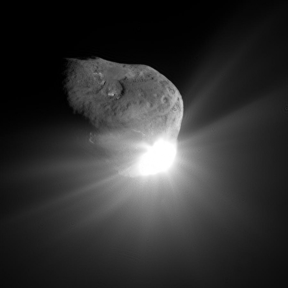 Deep Impact Comet Collision, July 4, 2005