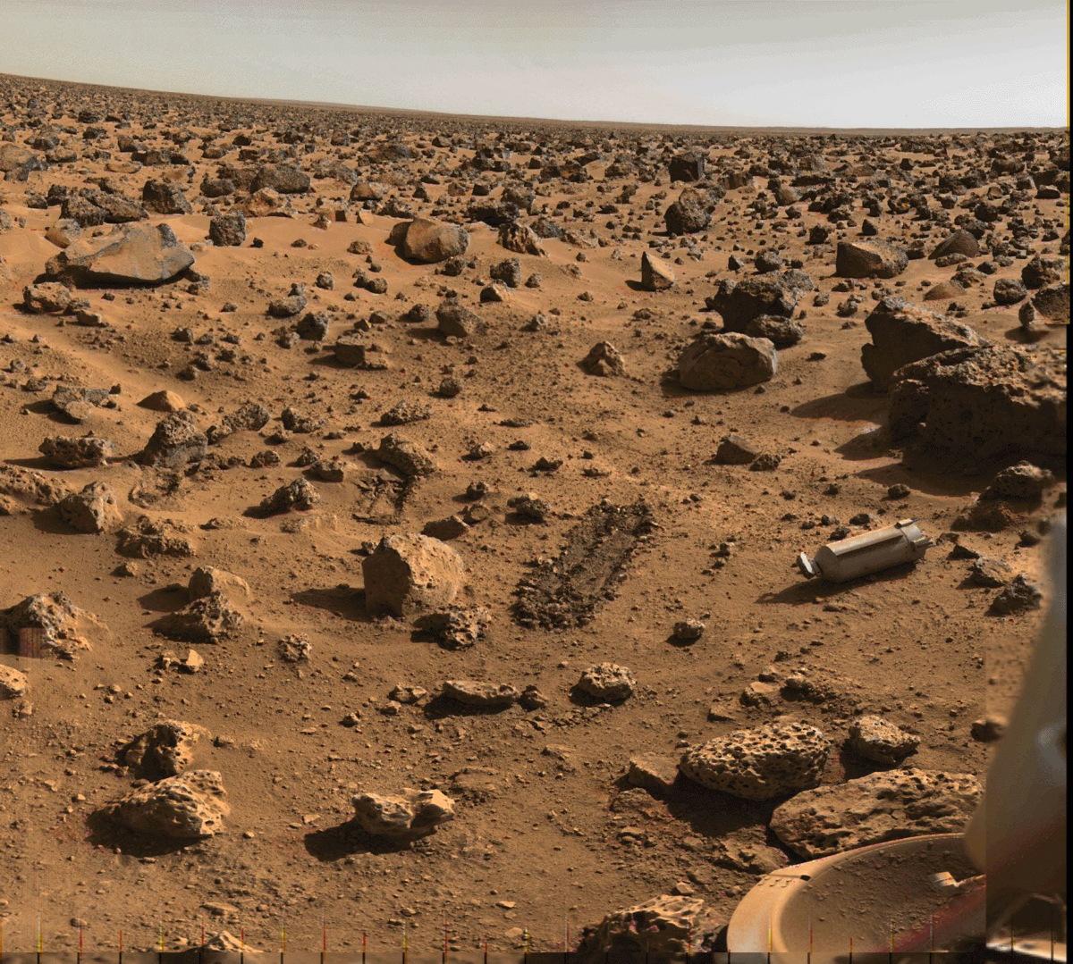 Mars Utopia Planitia Region