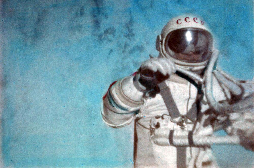 First Spacewalk (March 18, 1965)