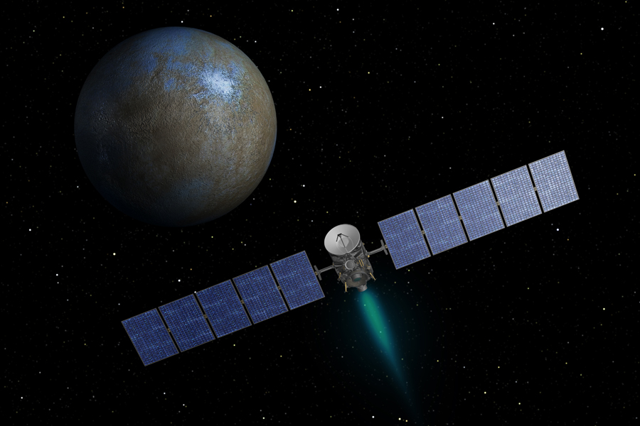 Dawn Spacecraft in Holding Pattern at Ceres After Glitch