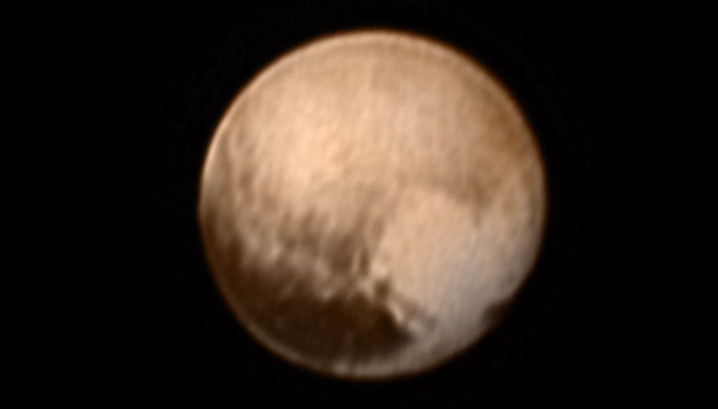 Pluto's 'Heart' Spied by New Horizons Spacecraft (Photo)