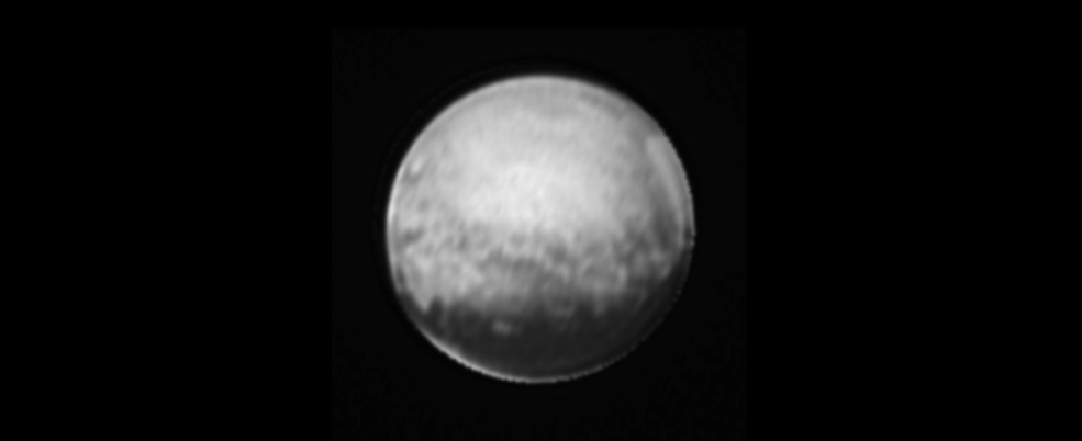 Pluto, July 8, 2015
