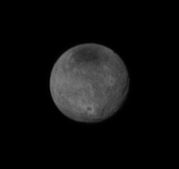 Charon's Craters and Chasms