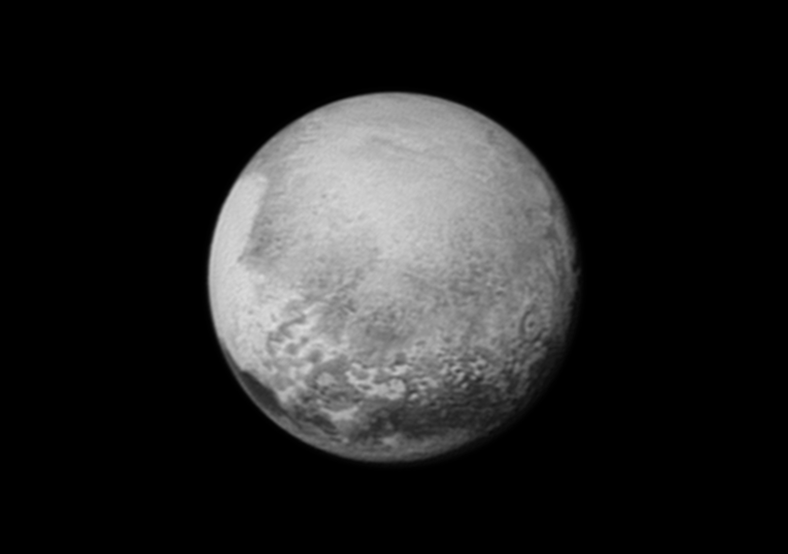 Pluto, July 12, 2015