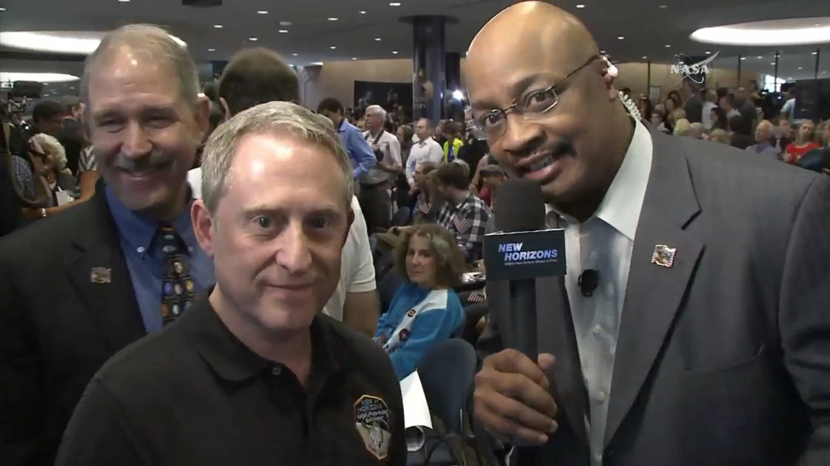 Stern Interviewed Following New Horizons Pluto Flyby