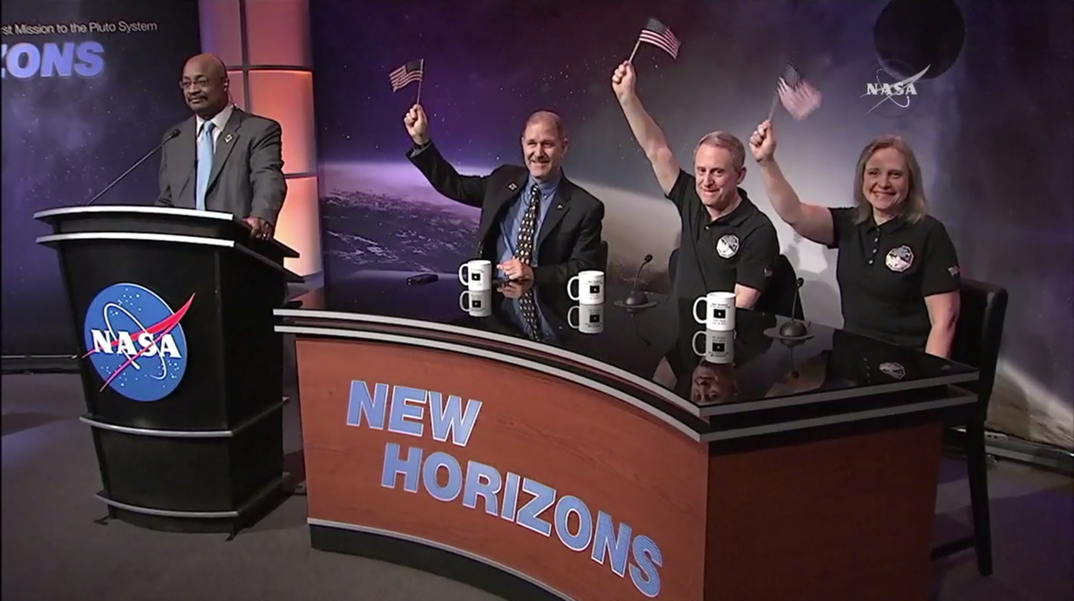 New Horizons Press Conference