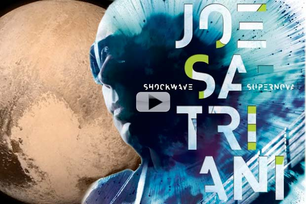 'Guitar God' Joe Satriani's Pluto Fly-By Impressions | Music + Video