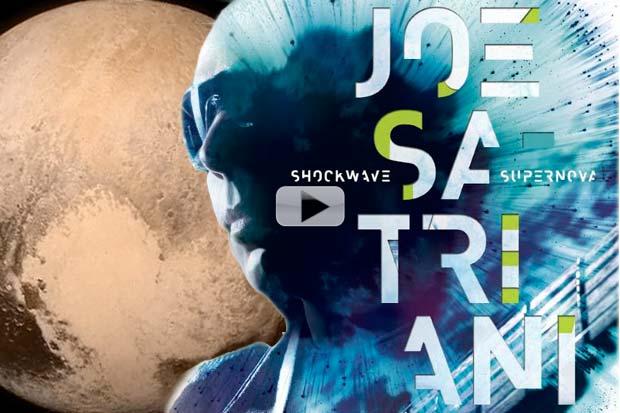Flashback: 'Guitar God' Joe Satriani's Pluto Fly-By Impressions | Music + Video