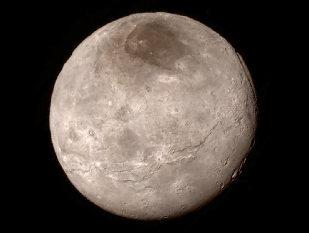 New Horizons Close View of Charon
