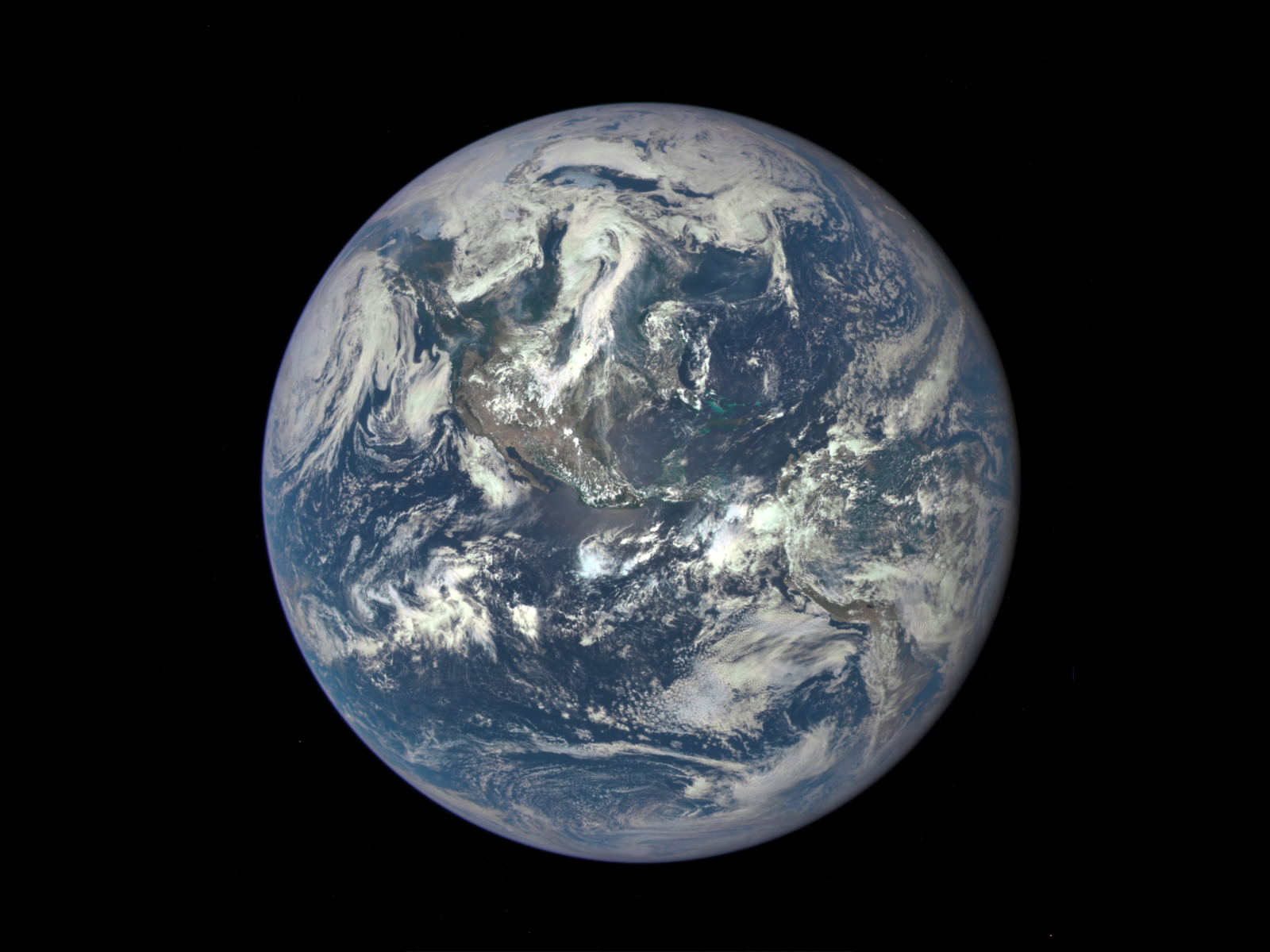 EPIC Image of Earth | Space Wallpaper