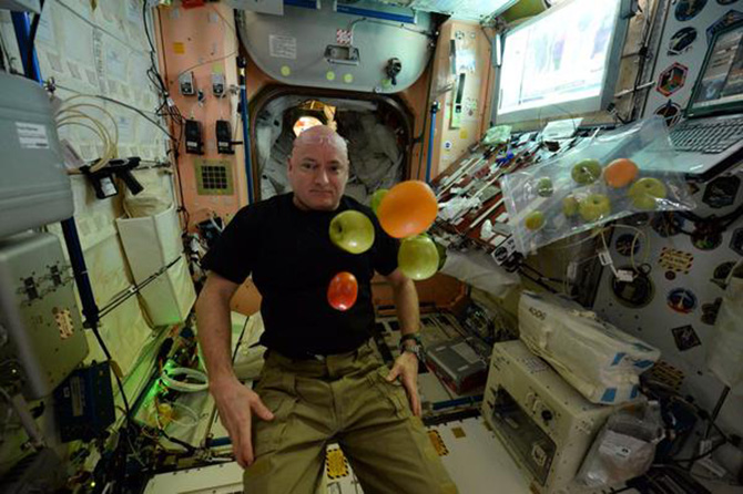 Inside the First 100 Days of a Year in Space: Photos