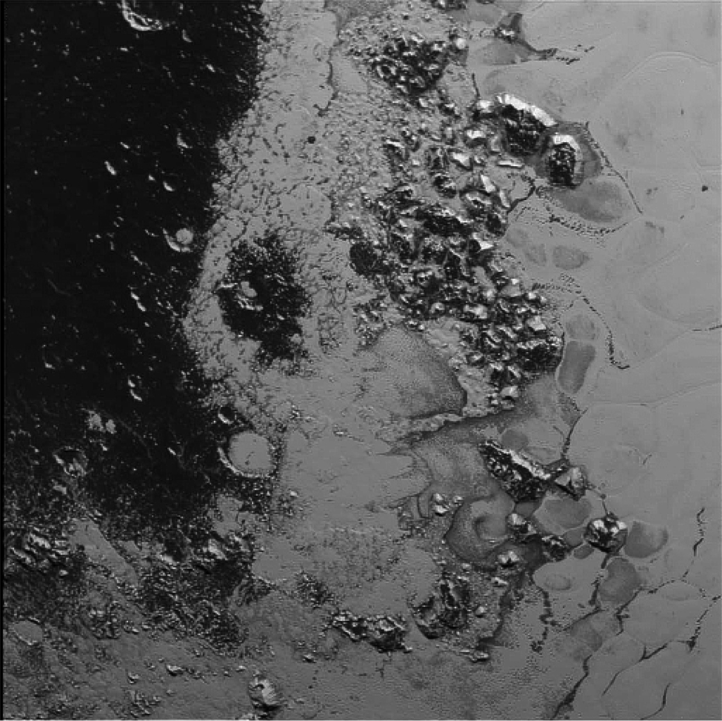 Second Mountain Range Rises from Pluto's 'Heart' (Photo)