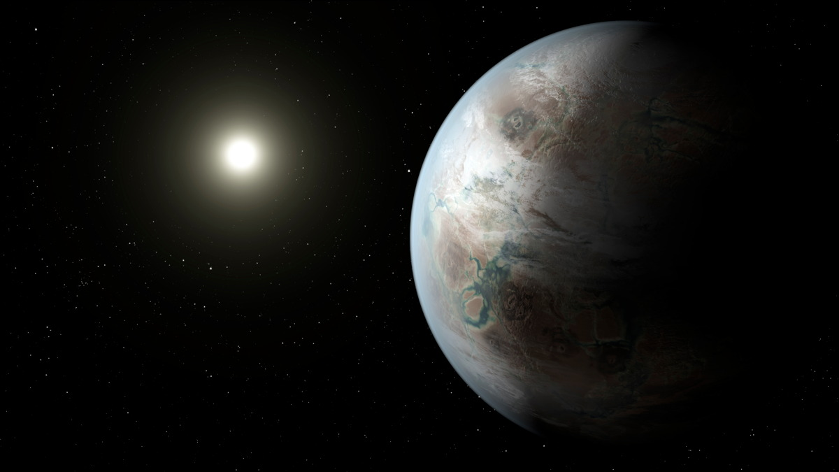 Possible Appearance of Kepler-452b Exoplanet