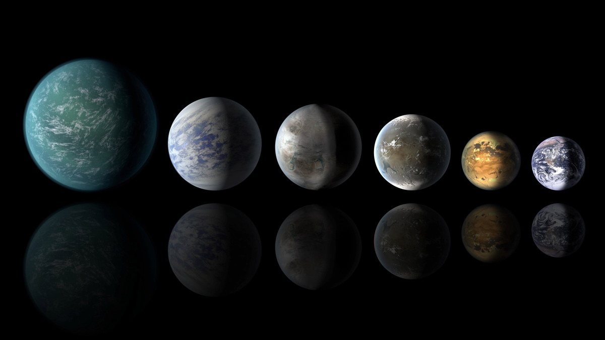 Habitable-Zone Planets Similar to Earth