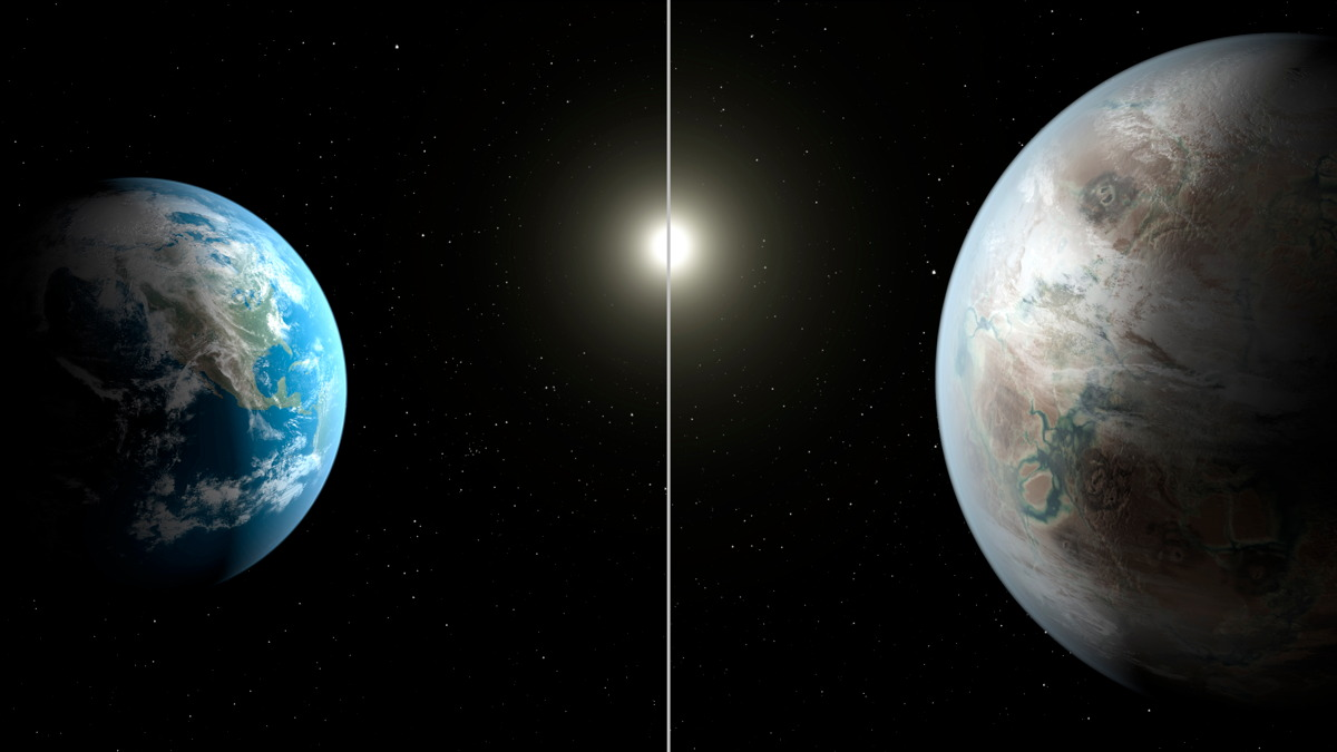 Earth's 'Cousin' Exoplanet, Kepler-452b