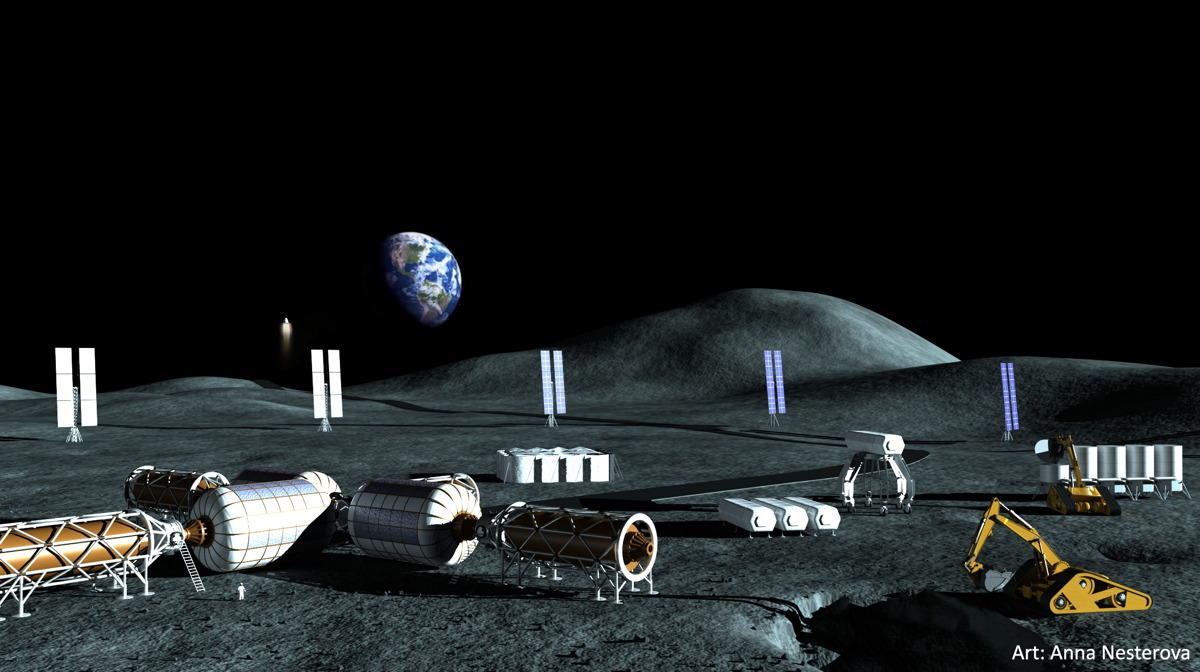 Moon Base Would Be Cheap with Help from Private Industry: Report