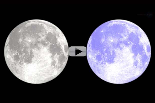 'Blue Moon' History and What Can Actually Turn It Blue | Video